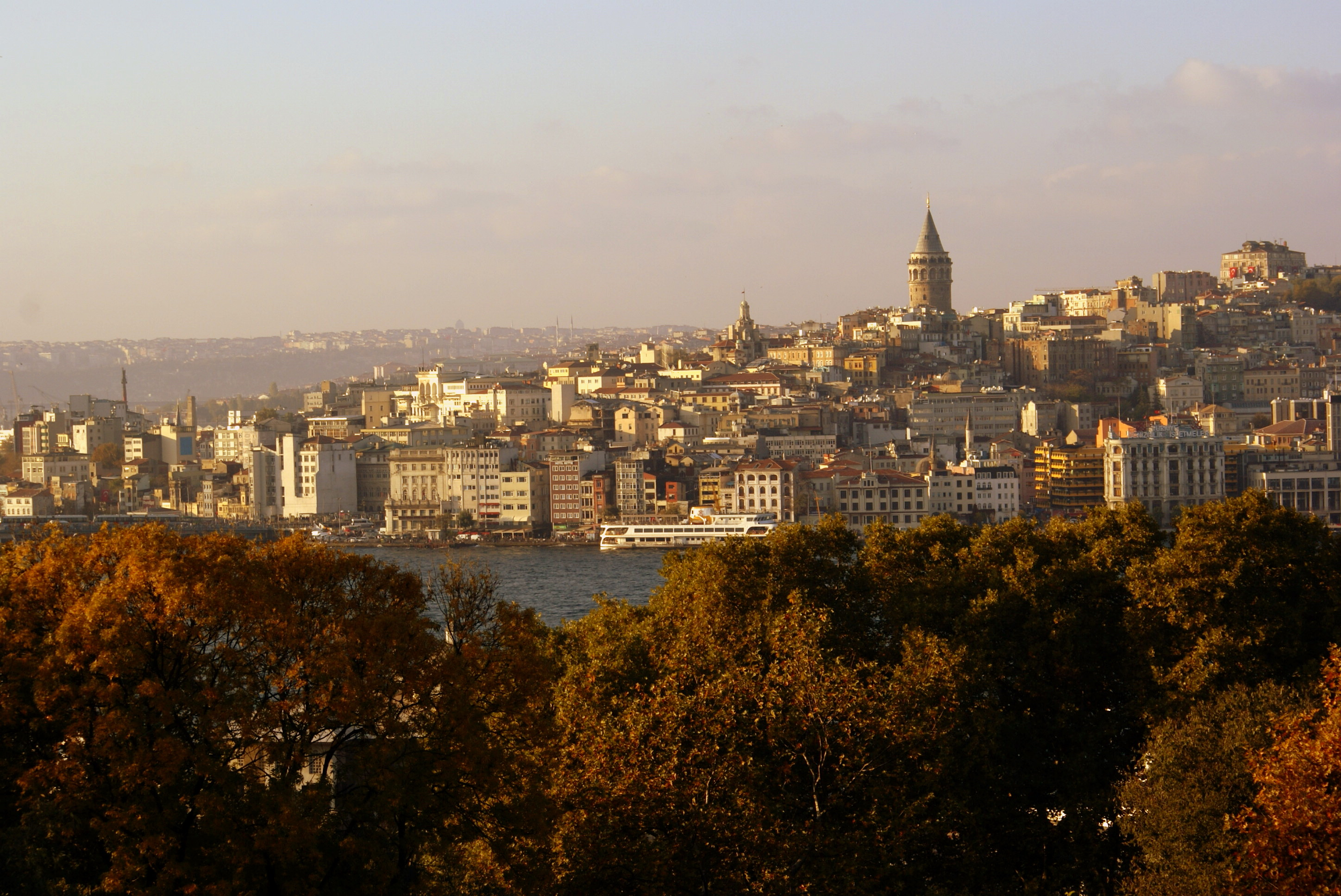 Istanbul from Baghdad Pavilion at Topkapi Palace