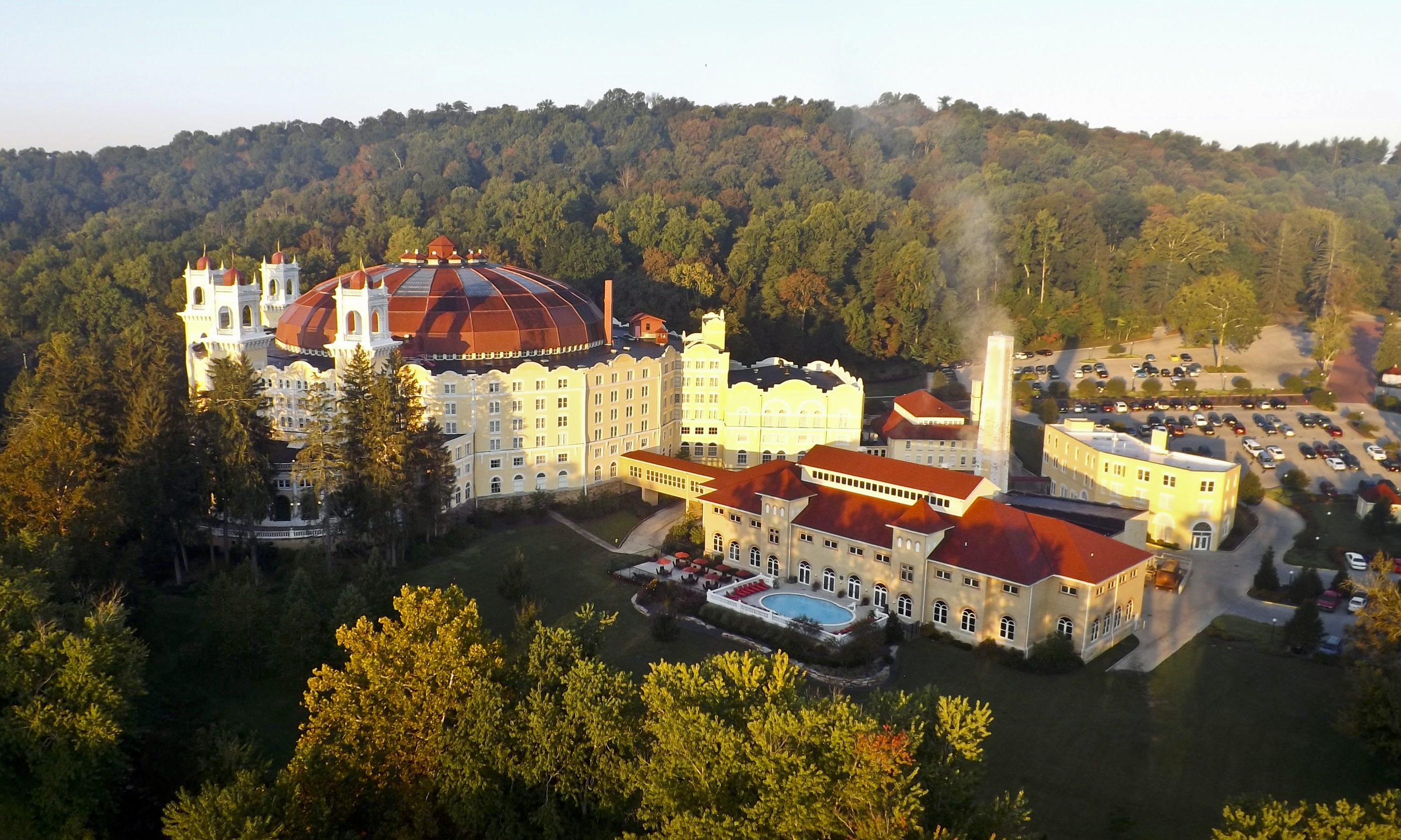 West Baden Springs Hotel   French Lick Resort   French Lick, Indiana