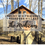 The Mohicans: Luxury kid-friendly treehouse village